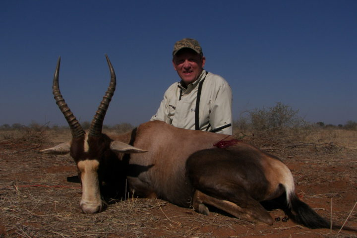 Mike with Blesbuck