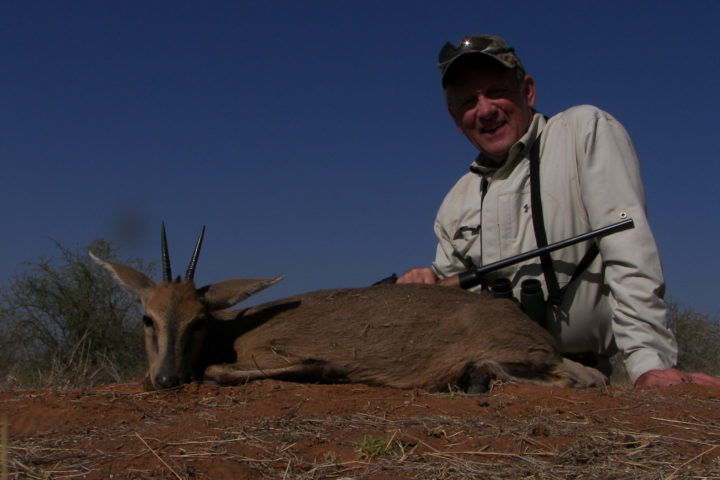 Mike with Duiker