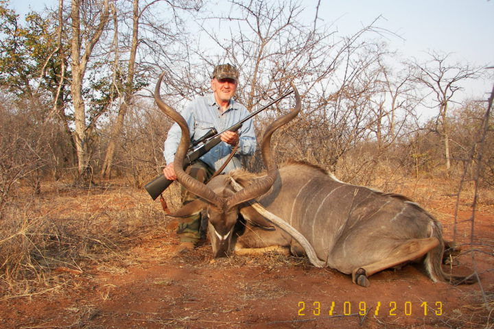 Donald with Kudu