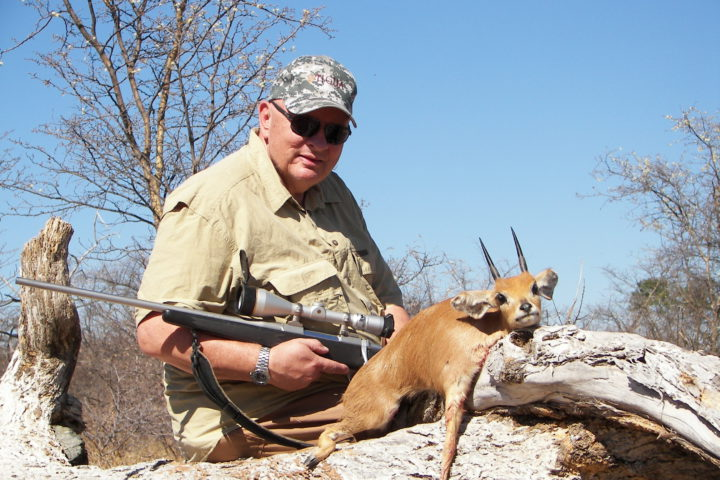 Bogie Bogenrief with Steenbok