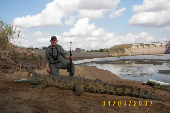 Bob with Crocodile