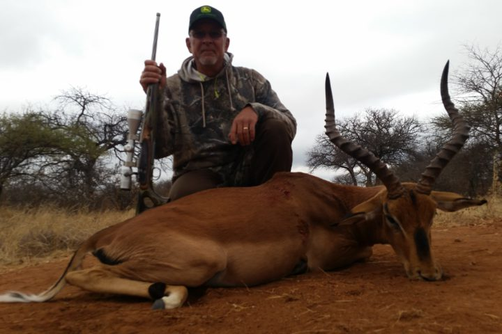 Jimmy Alford with Impala
