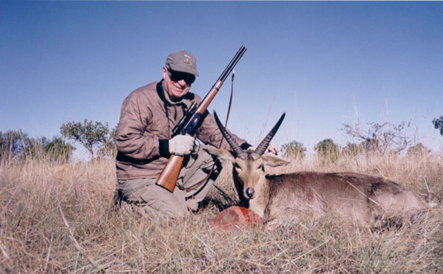 Ed with common Reedbuck