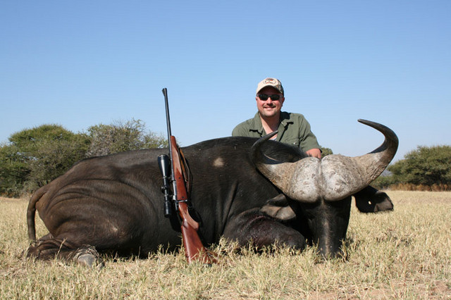 Gerry McCumber with Buffalo