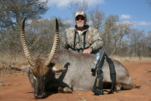Gerry with Waterbuck