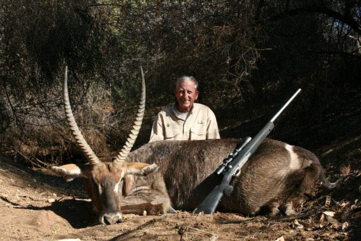 Ron with Waterbuck